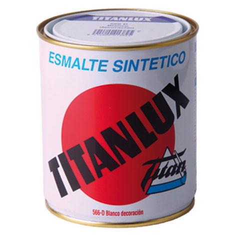 Esmalte Sintetico Brillante Negro 375 Ml - TITANLUX - 567..