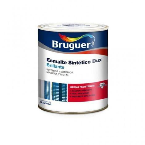 Esmalte sintetico Bruguer Dux Brillante Rojo Burdeos 750 Ml