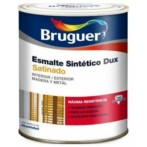 Esmalte Sintetico Satinado 250 Ml Blanco Interior/Exterior Bruguer Dux