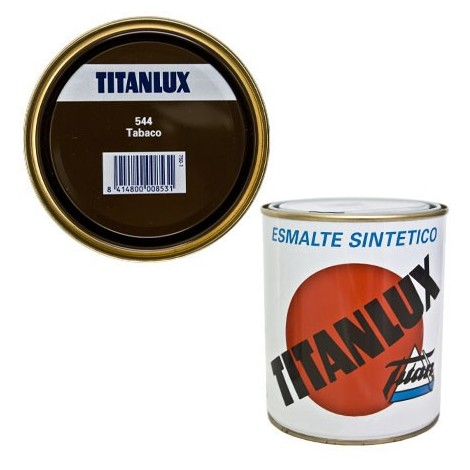 Esmalte Sint Br Tabaco - TITANLUX - 544 - 125 ML
