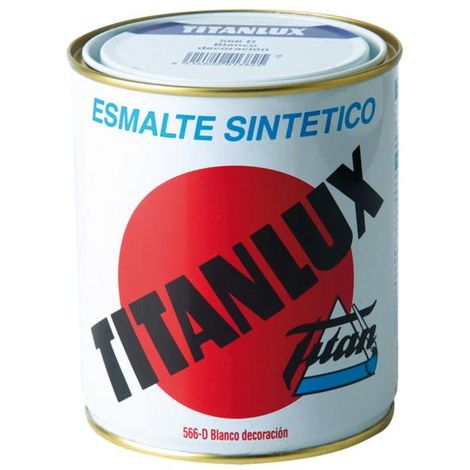 Esmalte titanlux blanco decoración o blanco exterior - talla