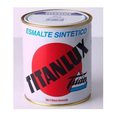 Esmalte Titanlux Blanco/Negro brillante