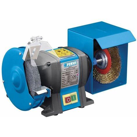 Esmeriladora combinada de banco 230 V 50 Hz 0,35 kW FERVI 0510