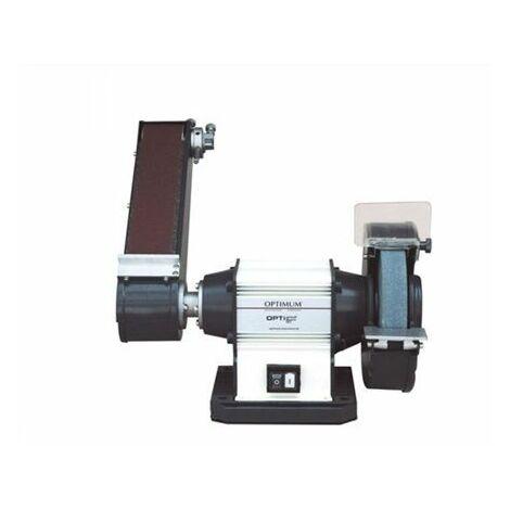 Esmeriladora con brazo de lijado 2CV/1,5kW/400V OPTIMUM GU25S