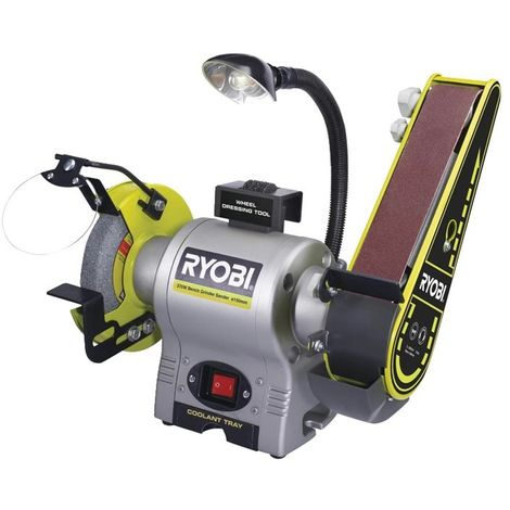 Esmeriladora-Lijadora 370W RYOBI RBGL650G