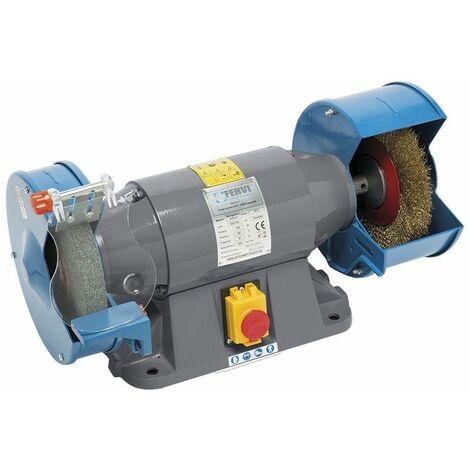 Esmeriladora profesional combinada 400V 50Hz 0.9kW FERVI 0554/400V