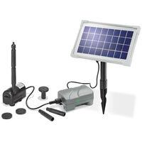 Esotec Pompe solaire Rimini Plus - batterie et module solaire - 175 L/h