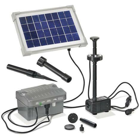 Esotec Système de pompe solaire avec éclairage Accu et LED - Palermo 101775