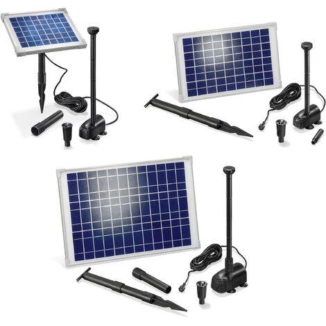 """Esotec Système de pompe solaire """"Splash"""" avec module solaire 20 W - 1350 l / h - max 190 cm"""