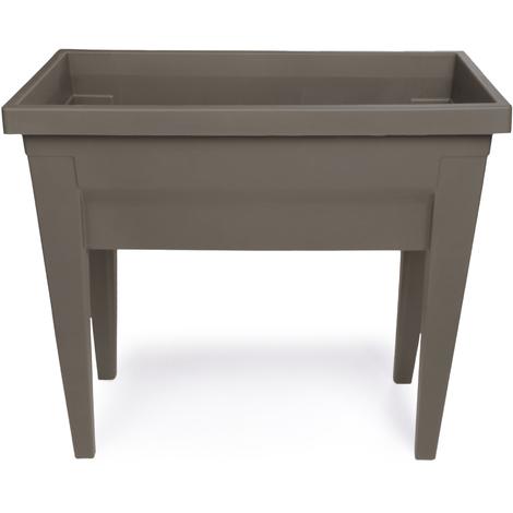 Espace potager sans serre veg&table l. x l. x h. 76 x 38,5 x 68 cm taupe