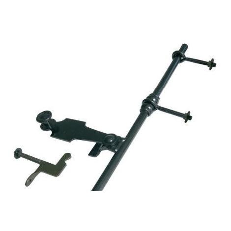 Espagnolette de volet HNS L.2500 mm TORBEL Lacet Poignée pleine Crochet droit - 0205254