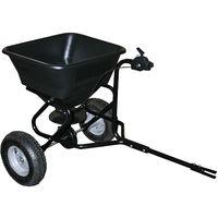 Esparcidor Carro Semillas Sal Fertilizantes Arena Sal Deshielo 30kg con ruedas r