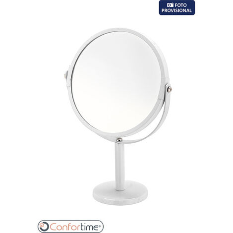 Espejo Aumento 2 Caras Mate Confortime