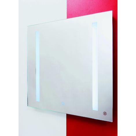 ESPEJO BLUETOOTH con LED 60 Dimensiones : 60X60 cm - Aqua +