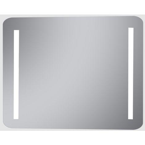 Espejo con 2 tiras de luz led para el baño Acer 60 ancho x 80 alto