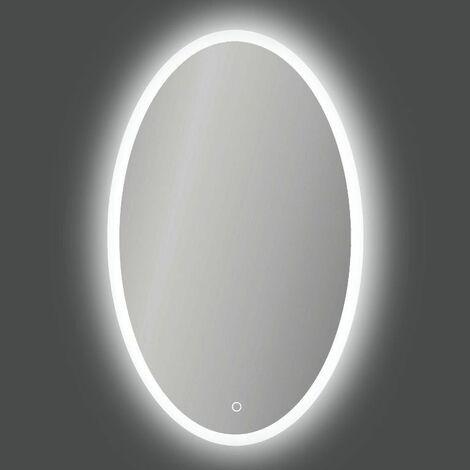 Espejo con luz ACB Iluminacion ELMA A940511LP blanco