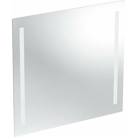 Espejo con luz opcional Geberit, iluminación por ambos lados, anchura 70cm, 500587001 - 500.587.00.1
