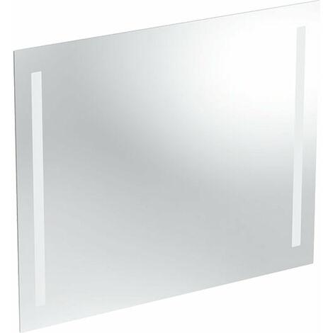 Espejo con luz opcional Geberit, iluminación por ambos lados, anchura 80cm, 500588001 - 500.588.00.1