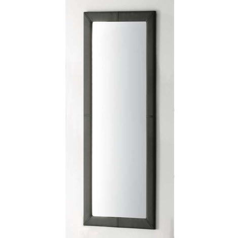Espejo con marco tapizado 160 cm de altura varios colores