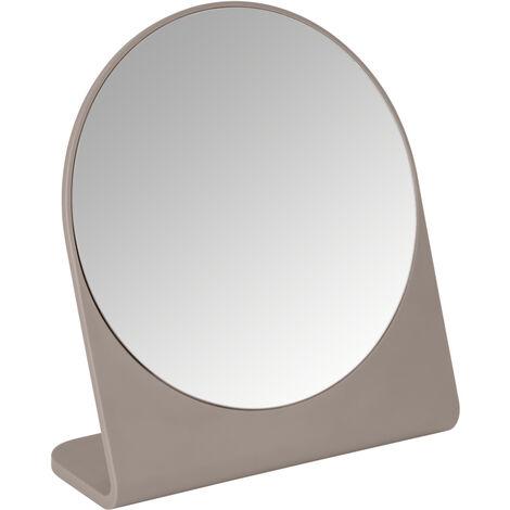 Espejo cosmética Marcon taupe