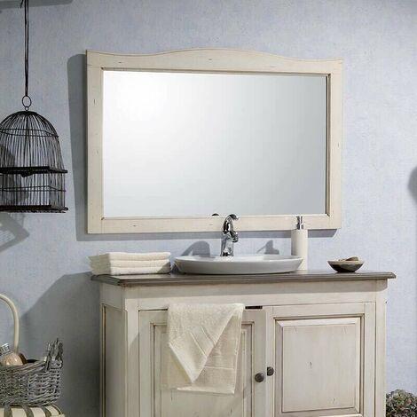 Espejo de 140 cm en Acacia blanca envejecida - Garriguo