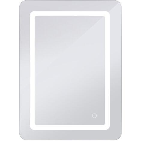 Espejo de baño con iluminación espejo de baño LED Touch (50x70x4cm, 9W)