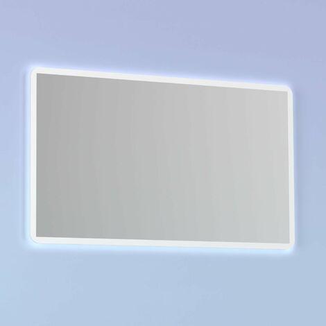 Espejo de baño HOSHI. Luz neutra LED integrada en el espejo.