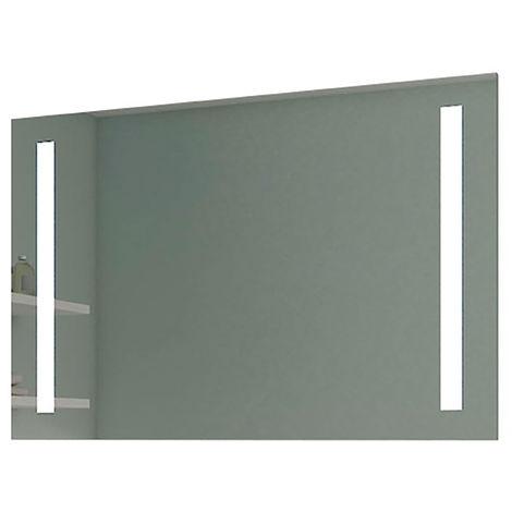 Espejo de baño VEGA - Estilo moderno minimalista - Iluminación LED incorporada Dimensiones: Anchura 80 cm / Altura 60 cm