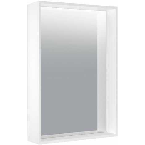Espejo de cristal Keuco X-Line 33295, 500 x 700 x 105 mm, color: acero inoxidable - 33295291500