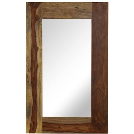 Espejo de madera maciza de Sheesham 50x80 cm