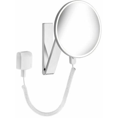 Espejo de maquillaje Keuco iLook_move, 17612, iluminado, 1 color de luz, con 212mm, cromado - 17612019001