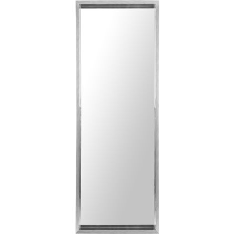 Espejo de pared 50x140 cm gris claro OIRON