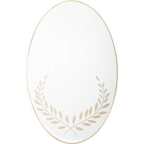 Espejo de pared 59x83 cm dorado ALOR