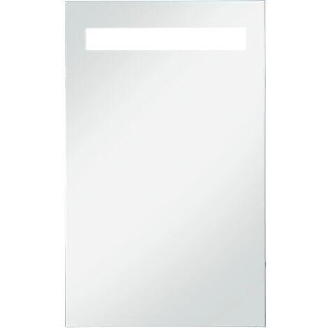 Espejo de pared de baño con LED 60x100 cm