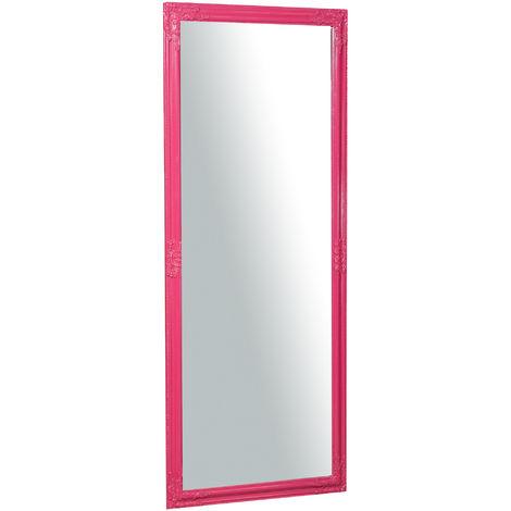 Espejo de pared de colgar vertical/horizontal 72x3x180 cm acabado con efecto fucsia l
