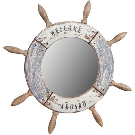 Espejo de pared en forma de tim