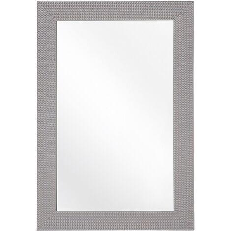 Espejo de pared gris 60x90 cm LELAVANDOU