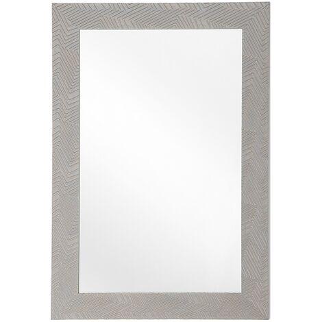 Espejo de pared gris 60x91 cm NEVEZ
