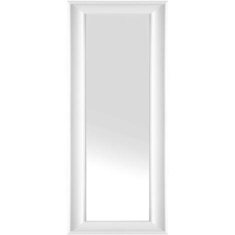 Espejo de pared - Marco blanco - 51x141 cm - LUNEL