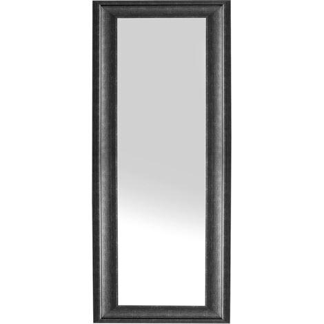 Espejo de pared - Marco negro - 51x141 cm - LUNEL