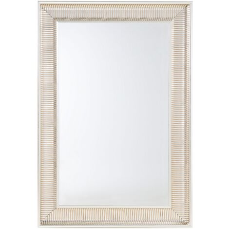 Espejo de pared - Marco oro y plata - 60x90 cm - CASSIS