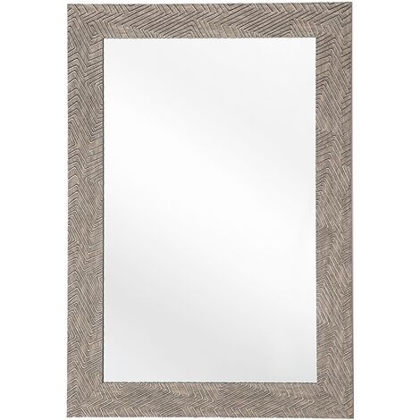 Espejo de pared marrón oscuro 60x91 cm NEVEZ
