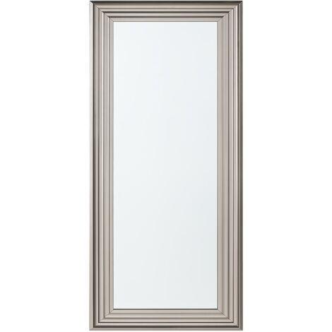 Espejo de pared plateado 50x130 cm CHATAIN