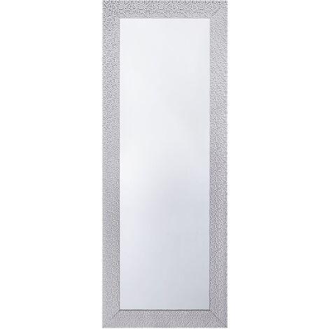 Espejo de pared plateado 50x130 cm MERVENT