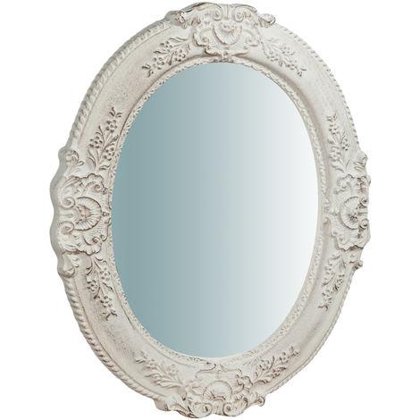 Espejo de pared vertical/horizontal de madera acabado hoja de oro envejecida L40XPR2,5XH32 cm Made in Italy