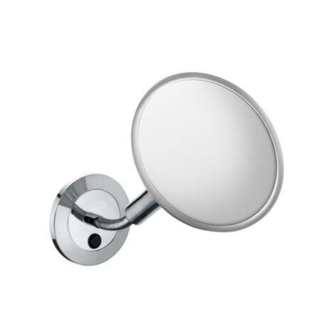 Espejo de vanidad Keuco Elegance 17676, modelo de pared, cromado - 17676019000