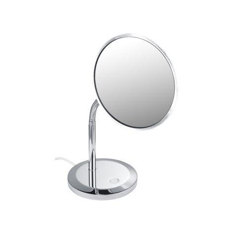 Espejo de vanidad Keuco Elegence 17677, modelo de suelo, cromado - 17677019000