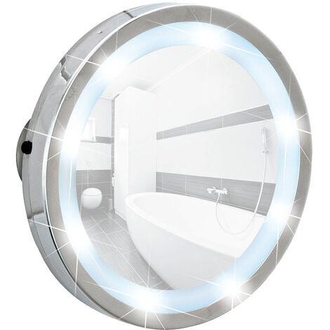 Espejo de ventosa con LED Mosso WENKO