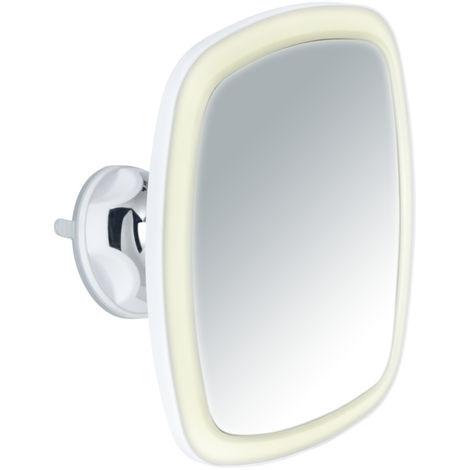 Espejo de ventosa e imán con LED Nurri