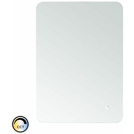Espejo Decorativo LED CCT Seleccionable con Interruptor Táctil Mykonos 45/55W Antivaho